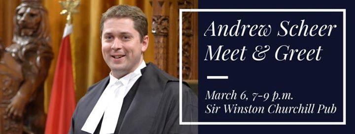 Meet  amp  Greet with Andrew Scheer Postponed Date To Be Determined     Allevents