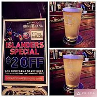 New York Islanders Happy Hour with Brewery Ommegang