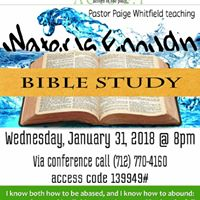 Water Is Enough - Bible Study