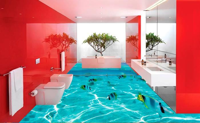 Curso de aplica o de piso 3d e piso vitrificado at for Azulejo vitrificado