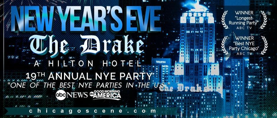 New Years Eve Party - The Drake Hotel 2020 - Chicago Scene at The