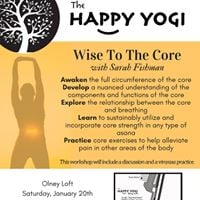 Wise to the Core with Sarah Fishman [OL]