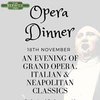 Opera Dinner