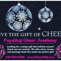 Cheer Class in January at Payettes