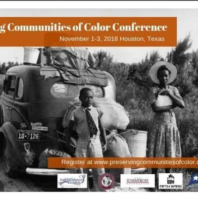 STUDENT ticket FREE Nov. 2 Preserving Communities of Color Conference Day 2