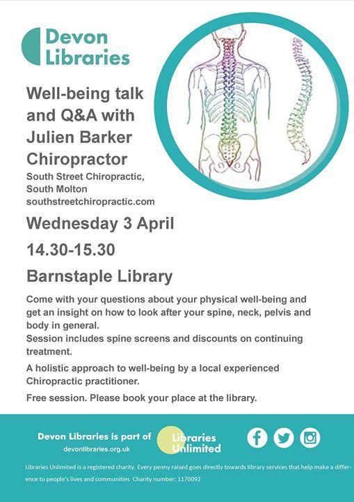 Well-being talk & Q&A with Julien Barker