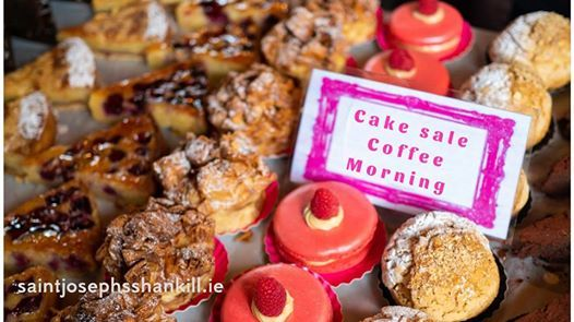 Cake sale coffee morning