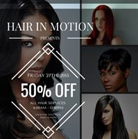 50% OFF HAIRSTYLES