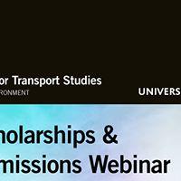 Scholarships &amp Admissions Webinar