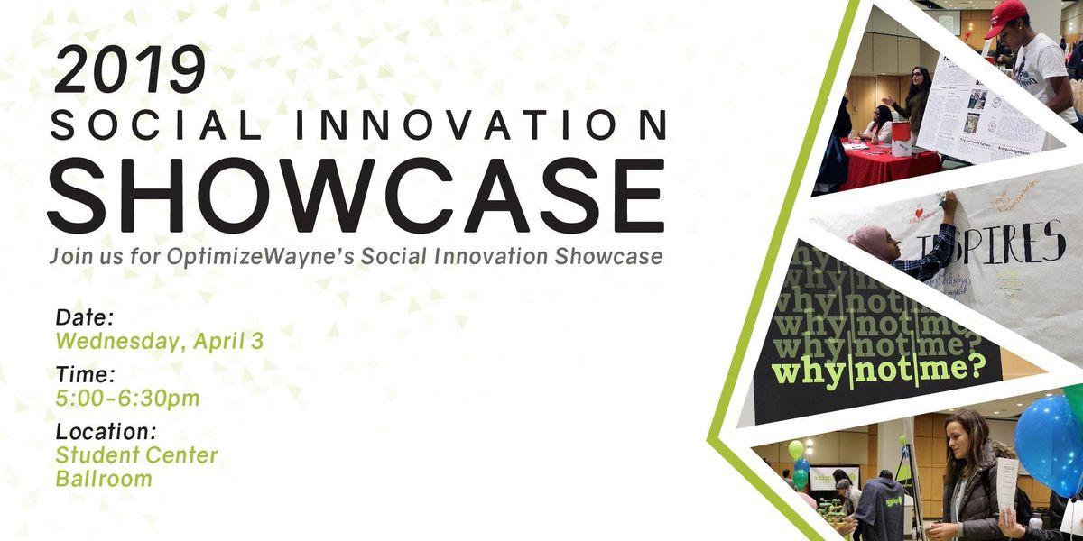 Social Innovation Showcase 2019