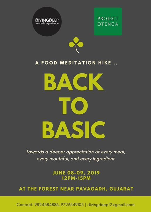 Back to Basic  Food Meditation Hike