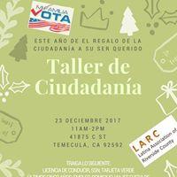 Citizenship Workshop Taller de ciudadania