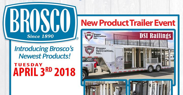Brosco New Product Trailer Event at Leader Home Centers