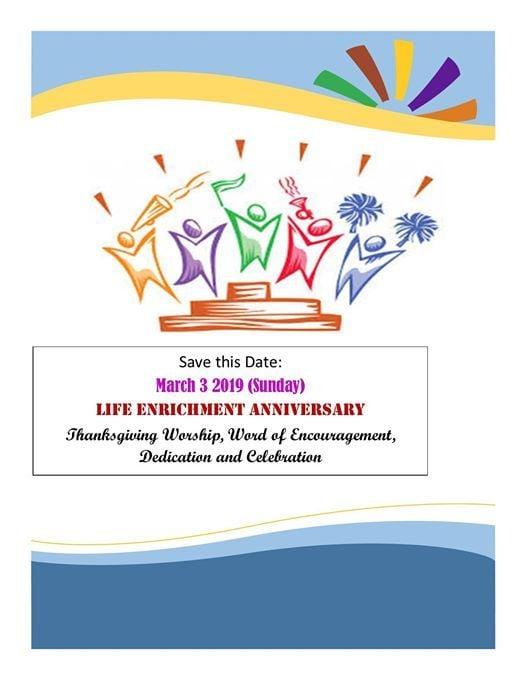 Life Enrichment Anniversary
