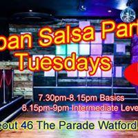 Hydeout Club Tuesday Salsa Bachata Party