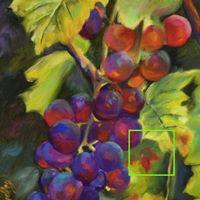 PAINT &quotCabernet Grapes&quot Bacchus