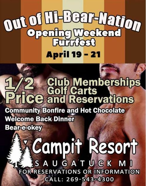 Out of HI-BEAR-nation Opening weekend & Furrfest