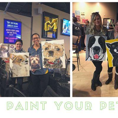 Paint Your Pet March 21st