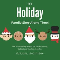 Holiday Family Sing-Along with Music Together Summit