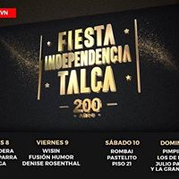 ROMBAI EN CHILE - TALCA Fiesta de la Independencia Talca 2018