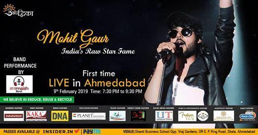 Mohit Gaur Live 1st Time in Ahmedabad  Bauddhika 2019