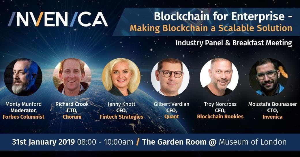 Blockchain for Enterprise - Making Blockchain a Scalable Solution