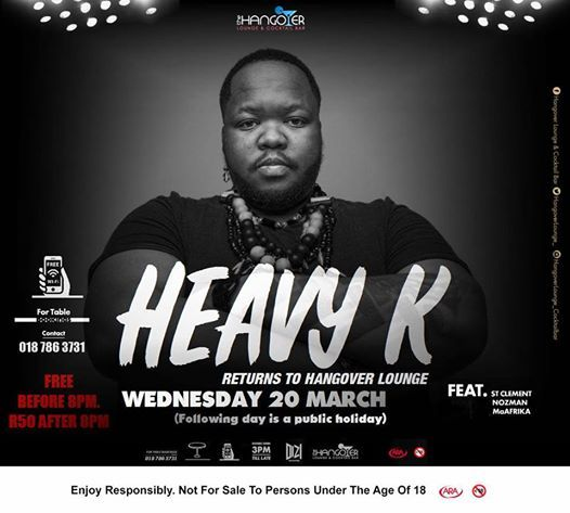 HEAVY K live at Hangover Lounge