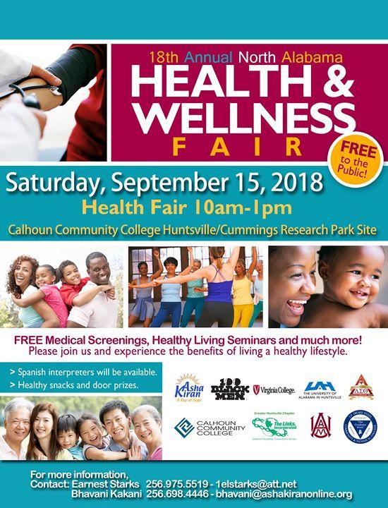 18th North Alabama Health & Wellness Fair