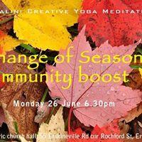 Kundalini Yoga for Change of Season