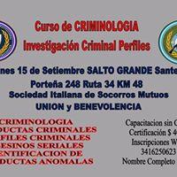 Curso de Criminologa Investigacin Criminal Perfiles