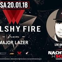 Walshy Fire von M A J O R   L A Z E R (DJ Set &amp Hosting)