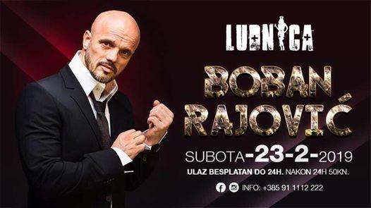 23.02. Subota Boban Rajovic - LIVE