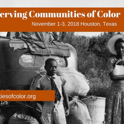 STUDENT LUNCH Nov. 1 Preserving Communities of Color Conference Day 1