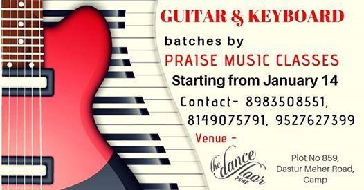 Guitar & Keyboard Beginners Batch
