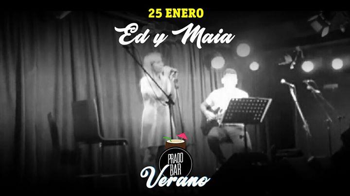 Ed y Maia - Show Acstico en Prado Bar
