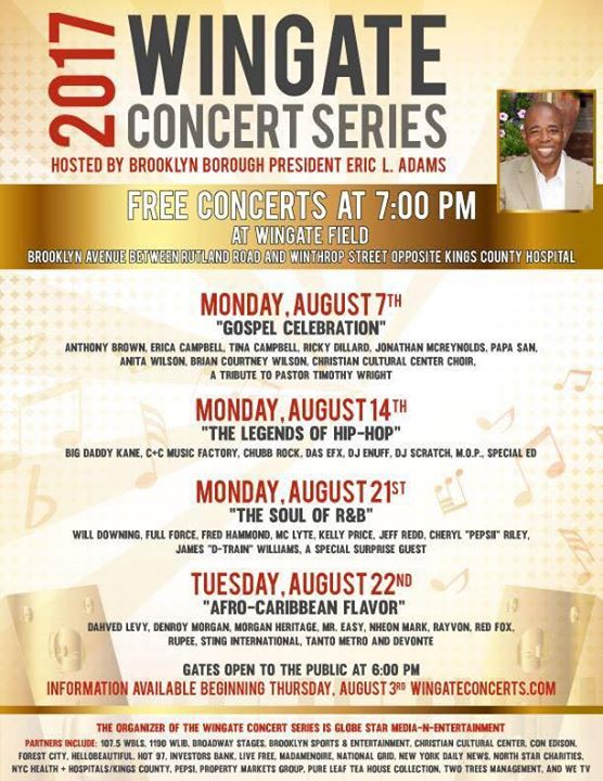 The Soul of R&B Free Concert at Brooklyns Wingate Field