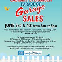 CECA Parade of Garage Sales