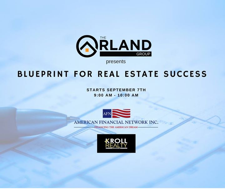 The blueprint for real estate success at kroll realty fort lauderdale event details malvernweather Choice Image