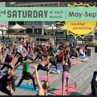 Outdoor Waterfront Yoga