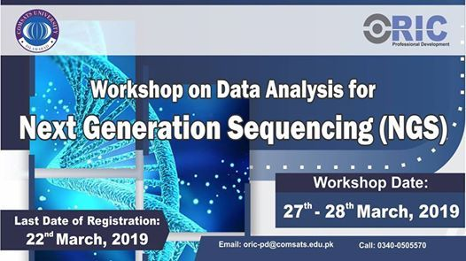Workshop on Data Analysis for NGS.