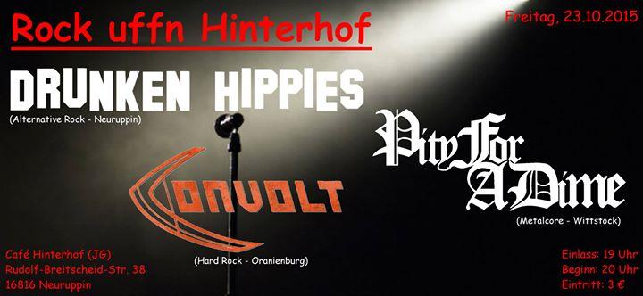 Rock Uffn Hinterhof At Neuruppin Cafe Hinterhof Rudol