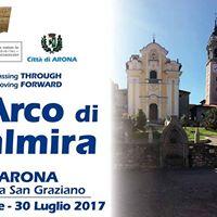 Arona e lArco di Palmira Passing Through moving Forward