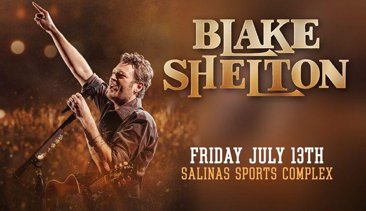 Blake Shelton Rodeo Kick Off Concert