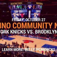 New York Knicks Pilipino Community Night (Knicks vs. Nets)