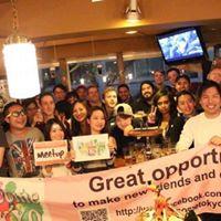 Happy Sunday Drinks Friending Meetup Irish pub Shibuya