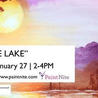 Paint Nite  &quotSunrise Lake&quot