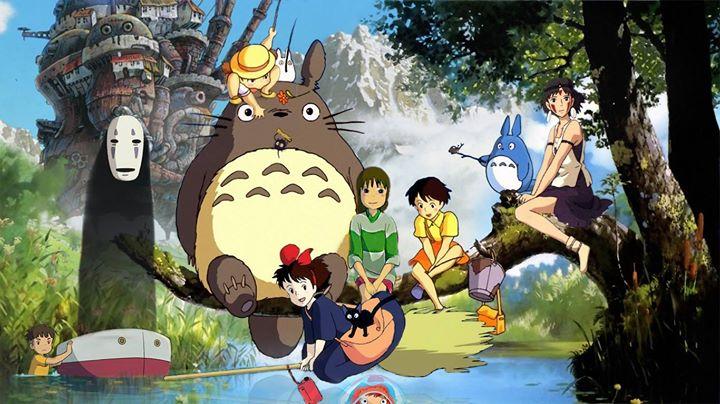 Les animations fanstatiques du Studio Ghibli