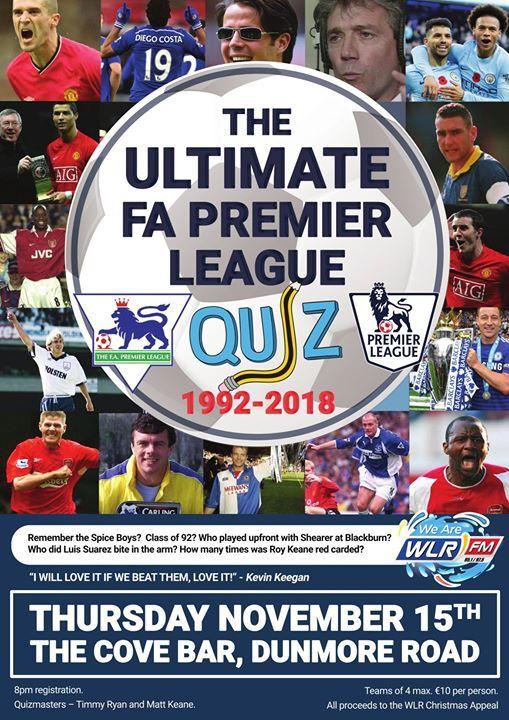The Ultimate FA Premier League Quiz