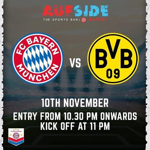 BVB 09 vs FC Bayern Munich
