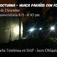 Trocha Nocturna Con FCSMP - Huaca Paraso En Lima Norte